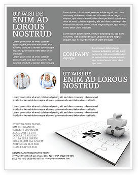 Business Concepts: Part Flyer Template #02984