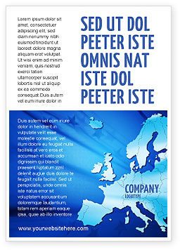 Global: Europa Advertentie Template #02988