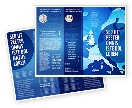 Global: Europe Brochure Template #02988