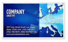 Global: Europa Visitekaartje Template #02988