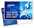 Global: Europe Postcard Template #02988