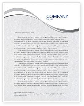 Business Concepts: Circle Letterhead Template #02994