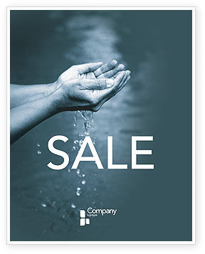 Water Sale Poster Template