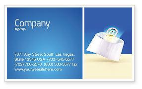 You've Got Email Business Card Template, 03007, Telecommunication — PoweredTemplate.com