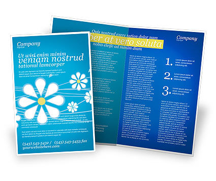 Spring Brochure Template