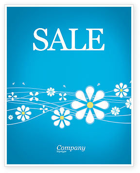 Spring Sale Poster Template, 03011, Abstract/Textures — PoweredTemplate.com