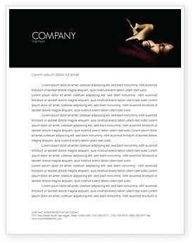 Art & Entertainment: Sexy Letterhead Template #03012