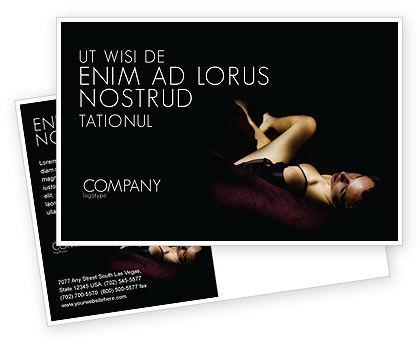 Art & Entertainment: Modèle de Carte postale de sexy #03012