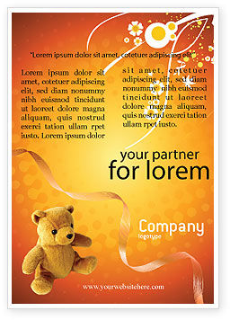 Toy Ad Template, 03013, Holiday/Special Occasion — PoweredTemplate.com