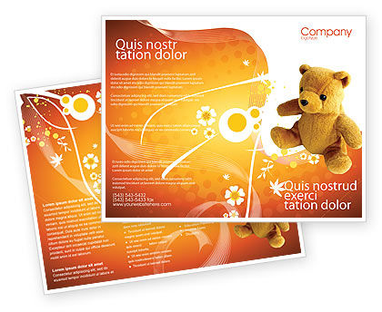 Holiday/Special Occasion: Toy Brochure Template #03013