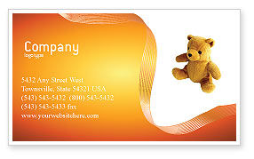 Holiday/Special Occasion: Toy Business Card Template #03013
