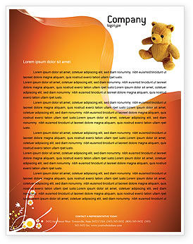 Toy Letterhead Template, 03013, Holiday/Special Occasion — PoweredTemplate.com