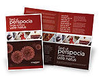 Medical: Red Corpuscles Brochure Template #03014