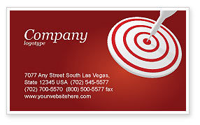 Target Business Card Templates in Microsoft Word & Publisher ...