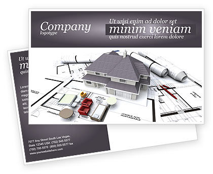 Townhouse Project Postcard Template