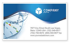 Genes Business Card Template