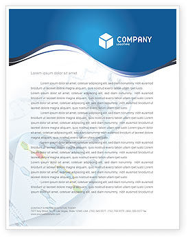 Genes Letterhead Template, 03031, Technology, Science & Computers — PoweredTemplate.com
