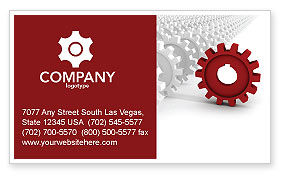 Detail Business Card Template, 03047, Business Concepts — PoweredTemplate.com