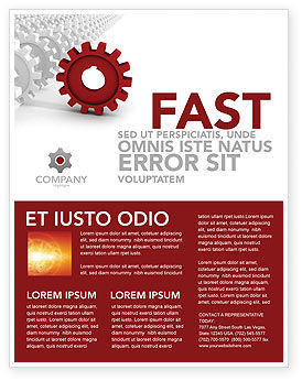 Business Concepts: Detail Flyer Template #03047