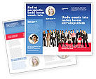 People: Women Brochure Template #03059