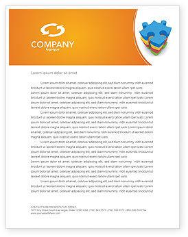 Business Concepts: Templat Kop Surat Teka-teki Selesai #03061
