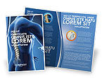 Medical: Spine Brochure Template #03062