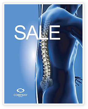 Spine Sale Poster Template