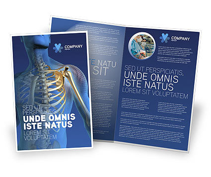 Medical: Bones Brochure Template #03063