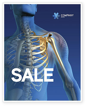 Bones Sale Poster Template, 03063, Medical — PoweredTemplate.com