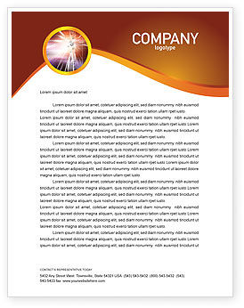 Abstract/Textures: Light Letterhead Template #03064