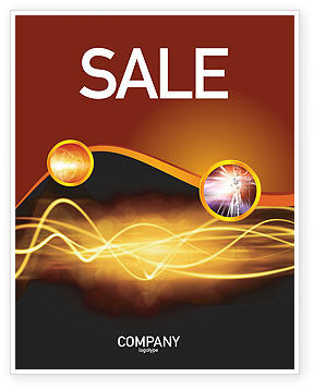 Abstract/Textures: Light Sale Poster Template #03064