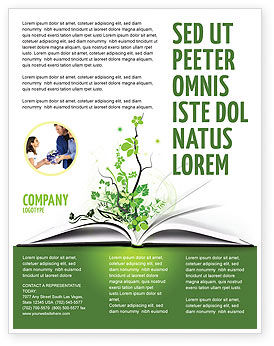 Education & Training: Wissen Flyer Vorlage #03072