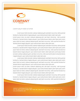 Technology, Science & Computers: Portative Devices Letterhead Template #03075