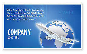 Airway Business Card Template