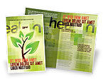 Nature & Environment: Green Health Brochure Template #03083
