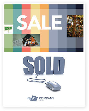 Technology, Science & Computers: Sold Sale Poster Template #03085