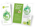 Nature & Environment: Green Environment Brochure Template #03091
