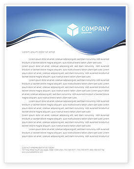Global: Global Keyhole Letterhead Template #03095