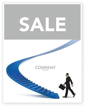 Career Rising Sale Poster Template