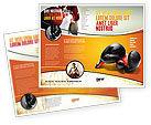 Sports: Modèle de Brochure de gants de boxe #03113