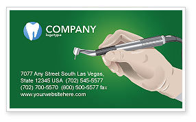 Dentist Business Card Template, 03114, Medical — PoweredTemplate.com