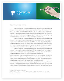 Medical: Dentist Letterhead Template #03114
