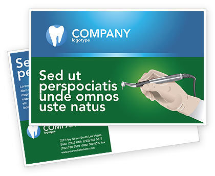 Medical: Modello Cartolina - Dentista #03114