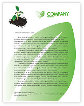 Nature & Environment: Life Letterhead Template #03126