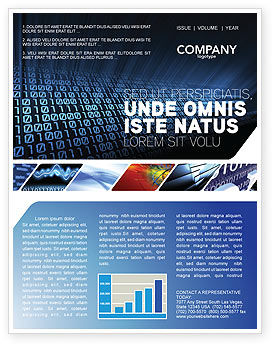 Computer newsletter template for microsoft word adobe indesign computer newsletter template 03128 technology science computers poweredtemplate spiritdancerdesigns