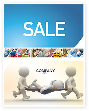 Medical: Emergency Sale Poster Template #03129