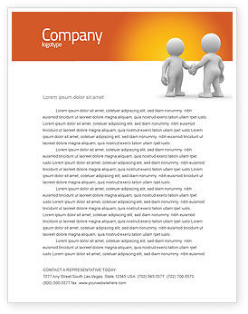 Understanding Letterhead Template, 03131, Business — PoweredTemplate.com