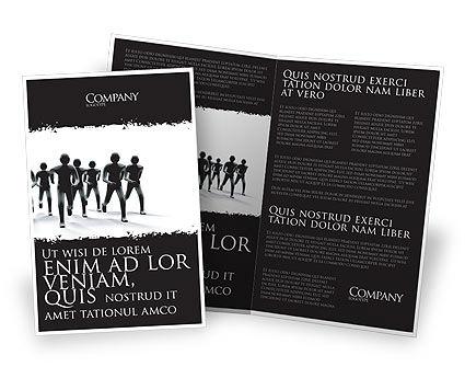 3D: Revolution Kostenlose Broschüren Vorlage #03136