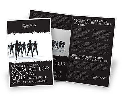 3D: Revolution Brochure Template #03136