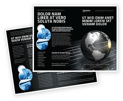 Global: Globe Of Steel Brochure Template #03141